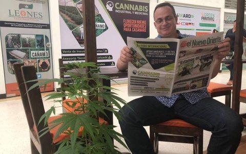 1er Foro Internacional Oportunidades y Retos de la Industria del Cannabis para la Orinoquia (Periódico)